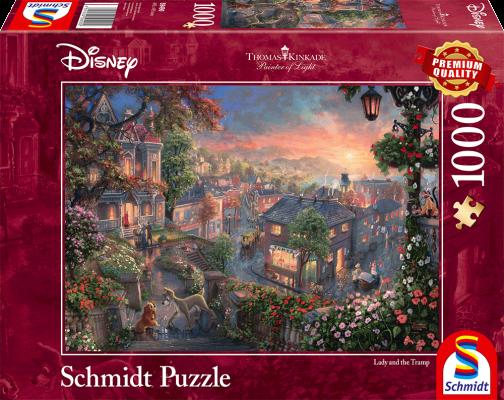 Puzzle: Disney Susi Und Strolch, 1000 Teile