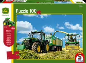 Traktor 7310R mit 8600i Feldhäcksler