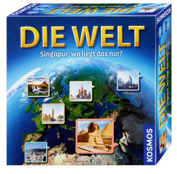 Die Welt Singapur, wo liegt das nur? Spiel