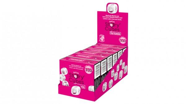 Story Cubes Geschichtenwürfel Fantasia pink