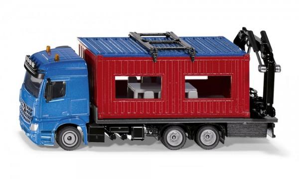 Siku 3556 LKW mit Baucontainer