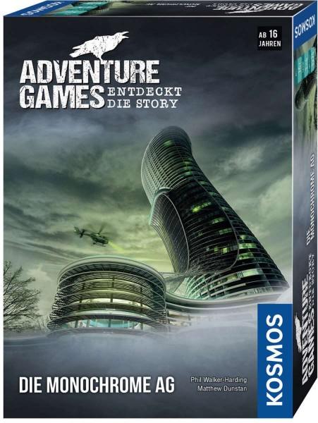 Adventure Games - Die Monochrome AG Spiel