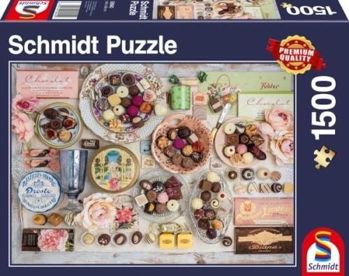 Puzzle: Nostalgie-Schokoladen, 1500 Teile