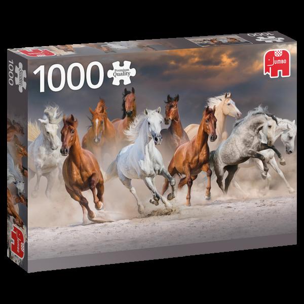 Premium Collection – Pferde in der Wste (1000 Teile)