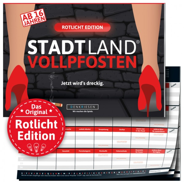 DENKRIESEN SL2009 STADT LAND VOLLPFOSTEN – Rotlicht Edition