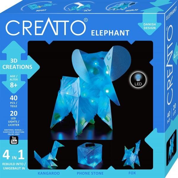 CREATTO Elefant 40 Teile