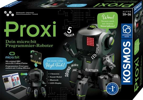Proxi Dein micro:bit Programmier-Roboter