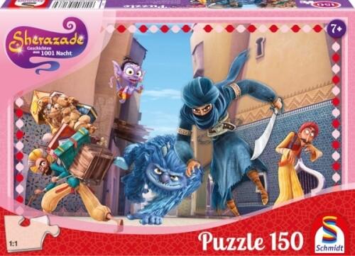 Puzzle: SHerazade, Jagd Durch Golden City, 150 Teile