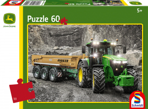 Puzzle: Traktor 7310R, 60 Teile