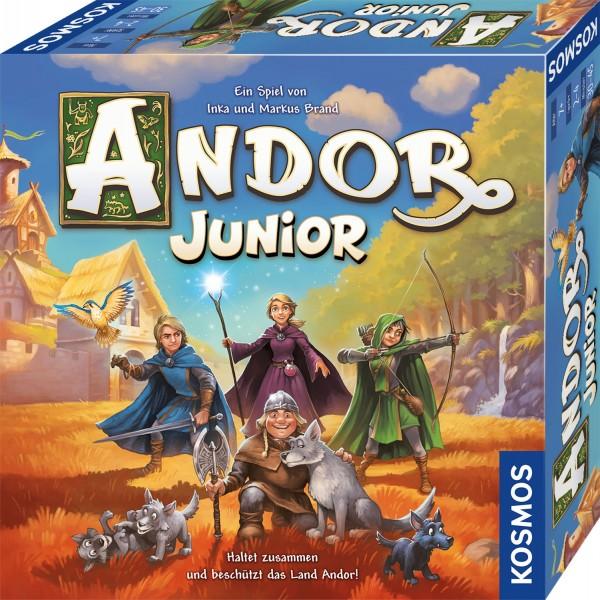Andor Junior Haltet zusammen und beschützt das Land Andor! Spiel-Copy