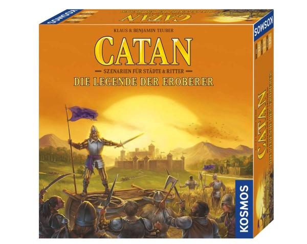 CATAN - Die Legende der Eroberer Szenarien für Städte & Ritter Spiel
