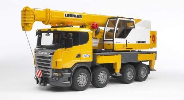 Bruder 03570 SCANIA R-Serie Liebherr Kran-LKW