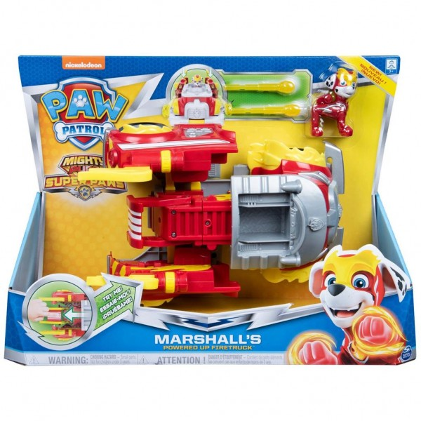 Paw Patrol Marshall Power Vehicle Mighty Pups