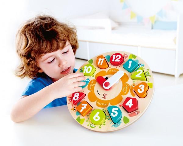 Steckpuzzle Uhr