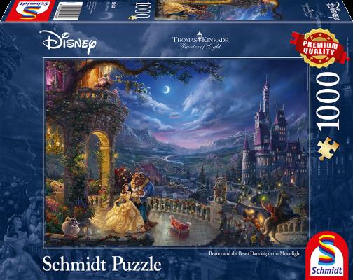 Puzzle: Die schöne und das Biest, 1000 Teile