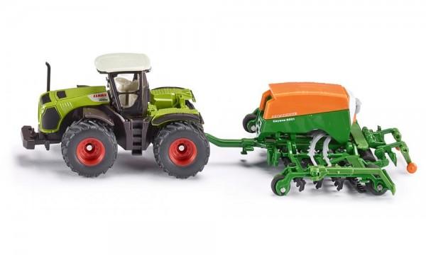 Siku 1826 Traktor mit Sämaschine