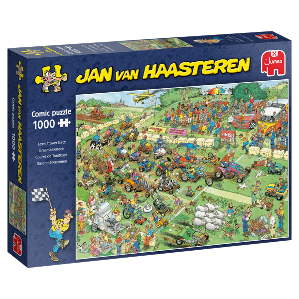 Jan van Haasteren – Rasenmherrennen (1000 Teile)