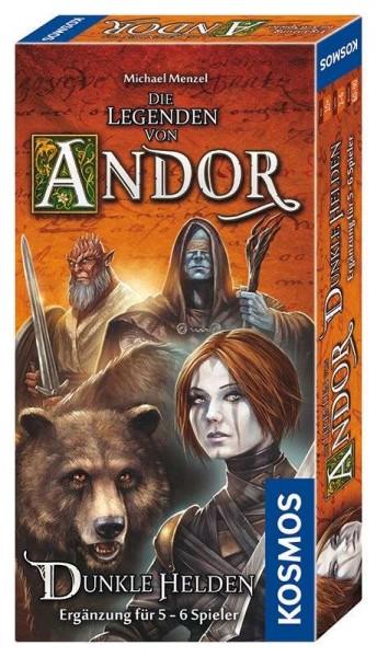 Die Legenden von Andor - Dunkle Helden Ergänzung Spiel