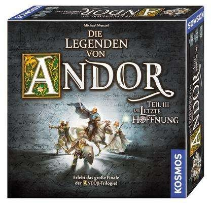 Die Legenden von Andor - Teil III Die letzte Hoffnung Erlebt das große Finale der Andor-Trilogie!