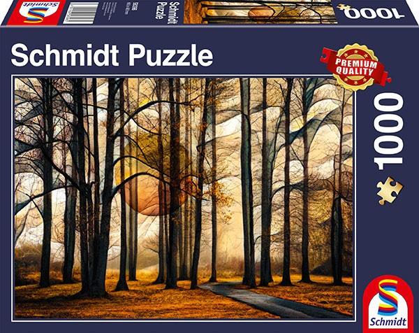 Puzzle: Magischer Wald, 1000 Teile