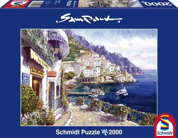 Sam Park: Amalfi am Nachmittag