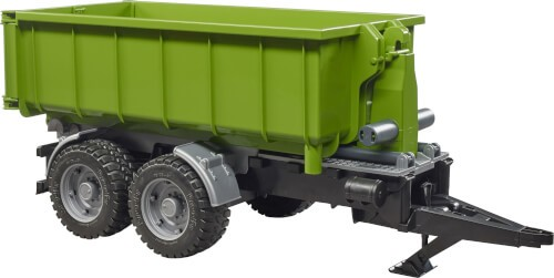 Bruder 02035 Hakenlift-Anhaenger fuer Trak