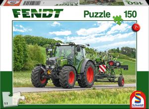 Puzzle: Fendt 211 Vario mit Fendt Wender Twister, 150 Teile