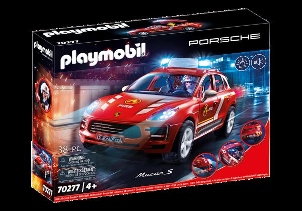 Playmobil Porsche Macan S Feuerwehr 70277