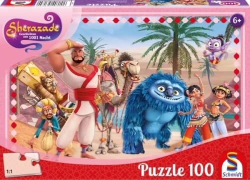 Puzzle, Sherazade, Geschichten Aus 1001 Nacht, 100 Teile