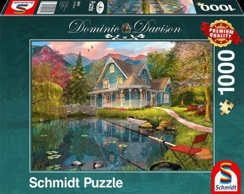 Puzzle: Ruhesitz am See, 1000 Teile