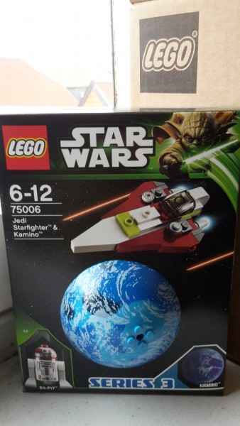 Lego 75006 LEGO Star Wars Jedi Starfighter & Kamino