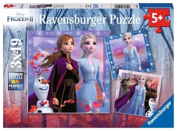 Kinderpuzzle - Frozen, Die Reise beginnt