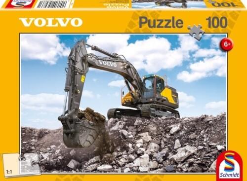 Puzzle: Volvo Ec380e, 100 Teile