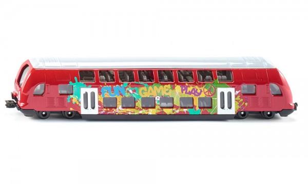 Siku 1791 Doppelstock-Zug