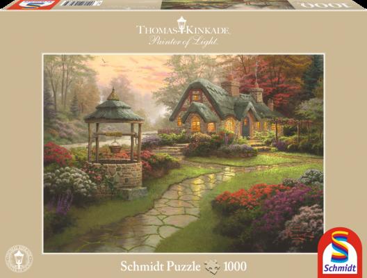 Puzzle: Haus Mit Brunnen 1000 Teile