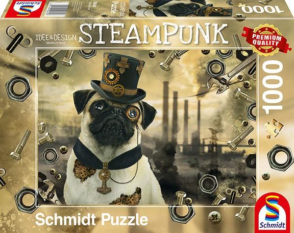 Puzzle: Steampunk Hund, 1000 Teile