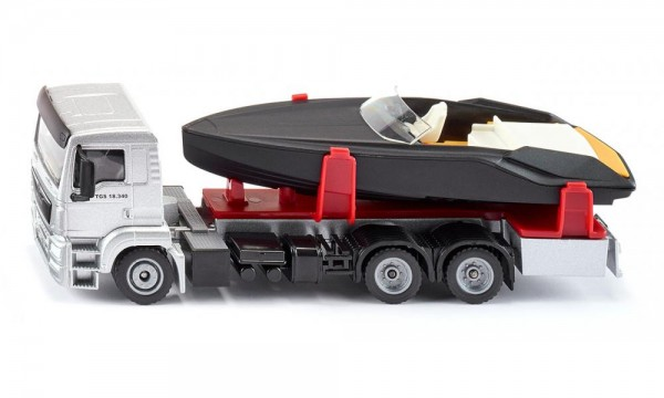 Siku 2715 MAN LKW Mit Motorboot