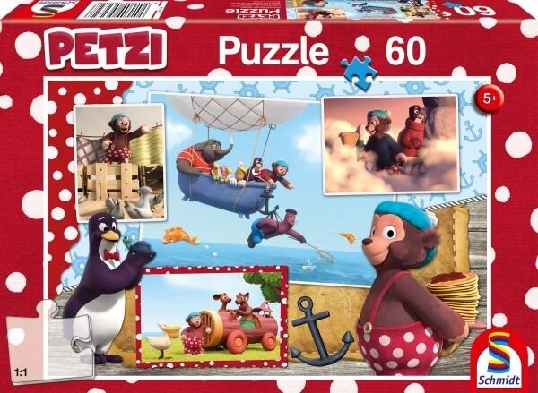 Puzzle: Petzi, Nur Fliegen Ist Schoener, 60 Teile