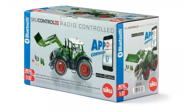 Siku 6793 Fendt 933 Vario mit Frontlader und Bluetooth