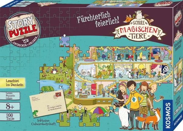 Story Puzzle: Die Schule der magischen Tiere - Fürchterlich feierlich!