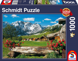 Puzzle: Blick ins Bergidyll, 1000 teile