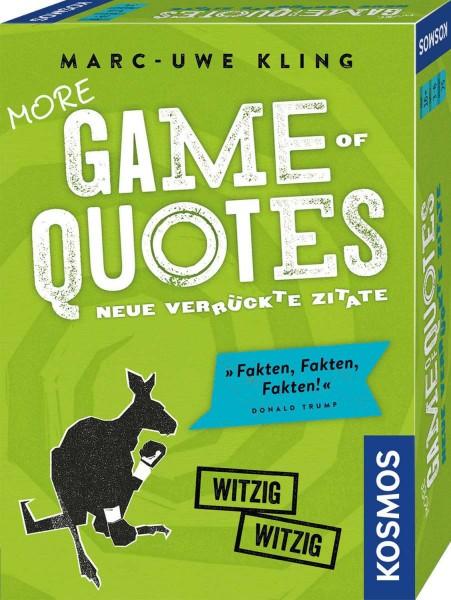 More Game of Quotes Neue verrückte Zitate