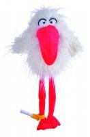 Vogel weiss Sorry Bird Mail