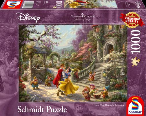 Puzzle: Schneewittchen - Tanz mit dem Prinzen, 1000 Teile