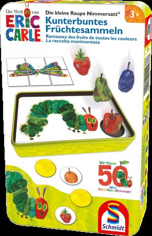 Raupe Nimmersatt, Kunterbuntes Früchtesammeln