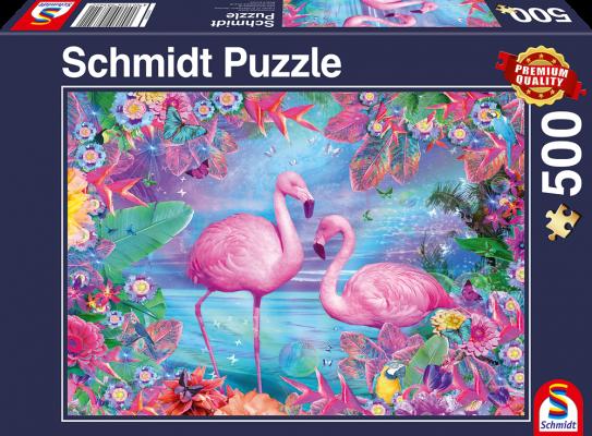 Puzzle: Flamingos, 500 Teile