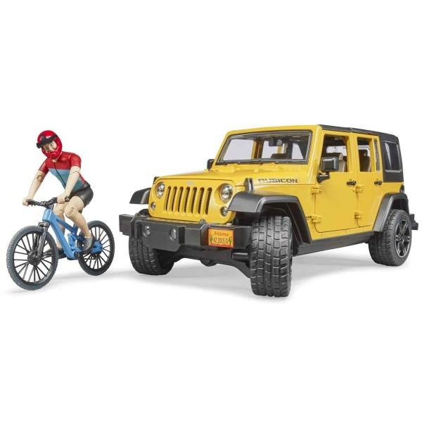 Bruder 02543 Jeep Wrangler Rubicon Unlimit