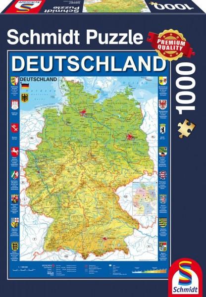 Pz. Deutschlandkarte 1000t