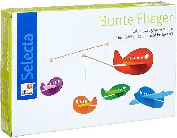 Bunte Flieger, Mobile, 40 Cm