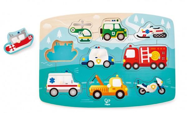 Puzzle Einsatzfahrzeuge